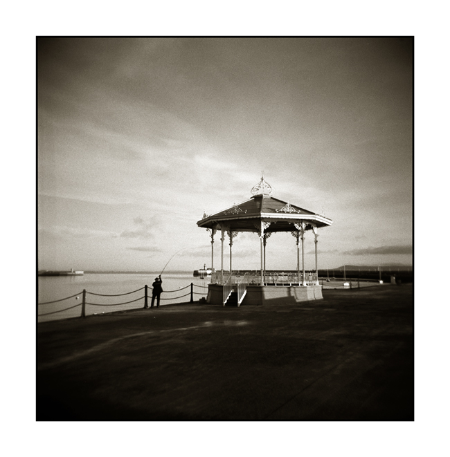 Dun Laoghaire Band Stand Holga