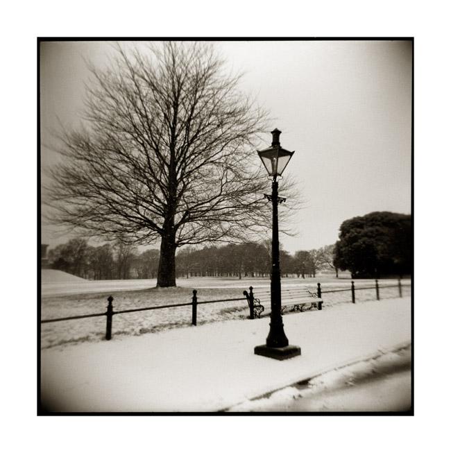 Snow, Phoenix Park