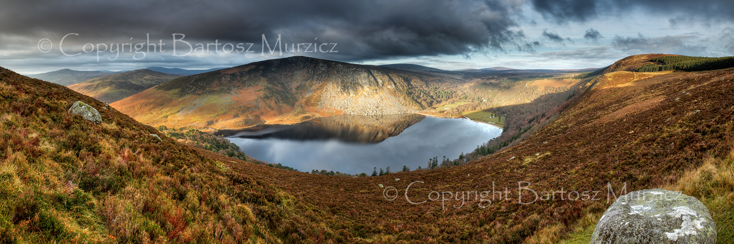 Lough Tay in late Autumn