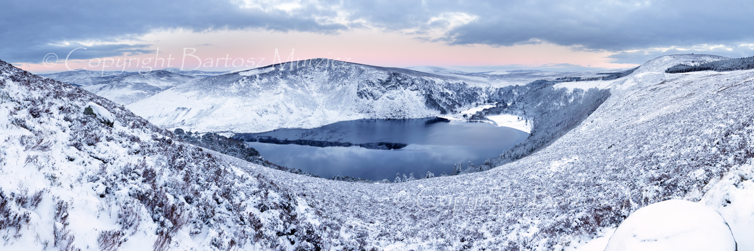 Lough Tay in the Winter