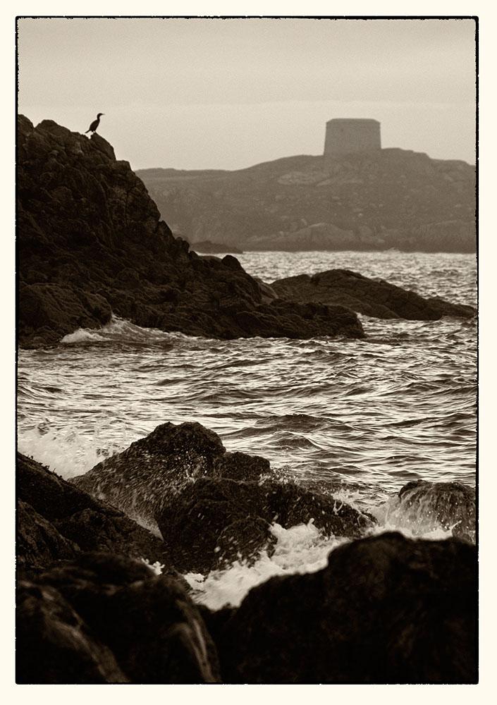 Martello Tower from White Rock beach