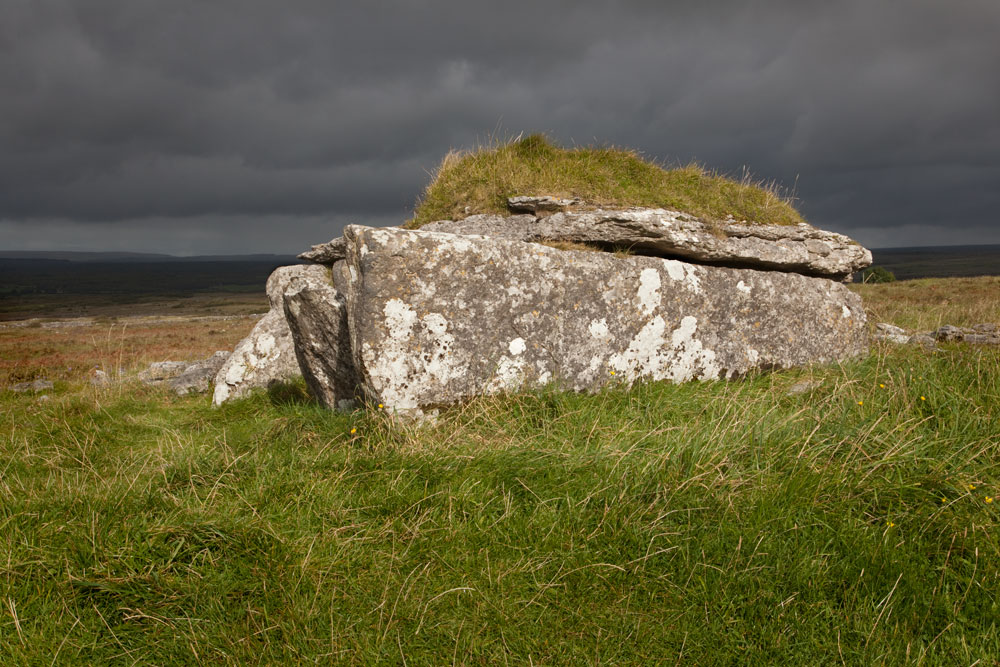Parknabinnia wedge tomb, The Burrren